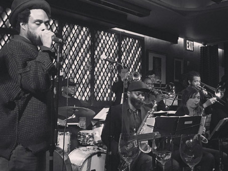 REVIEW: Igmar Thomas, Bilal, and the Revive Big Band Play Ginny's Supper Club in Harlem