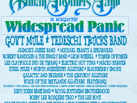 Widespread Panic & Gov't Mule Join The Allman Brothers Band at Wanee Festival 2013