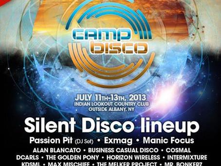 Camp Bisco Announces Silent Disco Lineup: Passion Pit (DJ Set), Exmag, Manic Focus