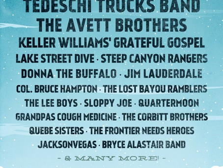 Magfest 2015 Lineup Brings High Energy with Tedeschi Trucks Band, The Avett Brothers, and more!