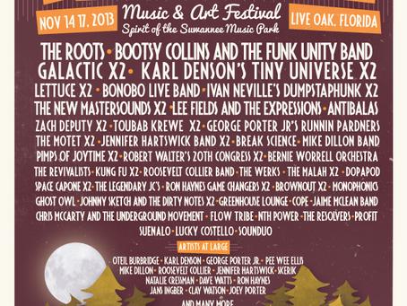 Bear Creek adds Bonobo (Live Band), Dumpstaphunk, Galactic // Tickets on sale now!