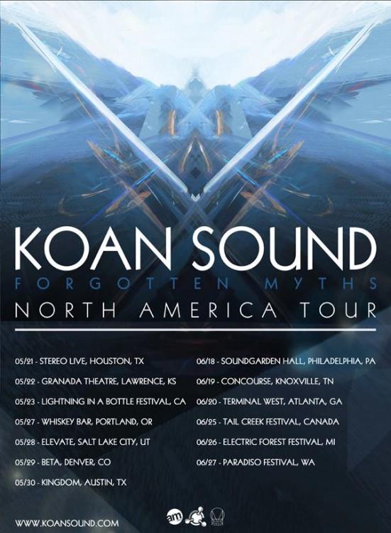 koan sound tour dates