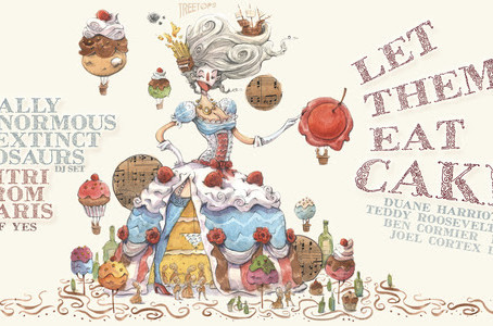 Treetops' Let Them Eat Cake: TEED & Dimitri From Paris at House of Yes this Saturday