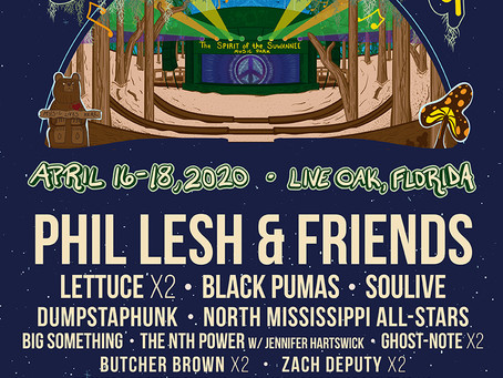 Suwannee Rising brings Phil & Friends, Lettuce, Soulive to the World's Greatest Festival Grounds