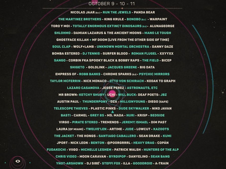 III Points Festival Lineup: Nicolas Jaar, Bonobo, Shlomo, MF Doom, and More
