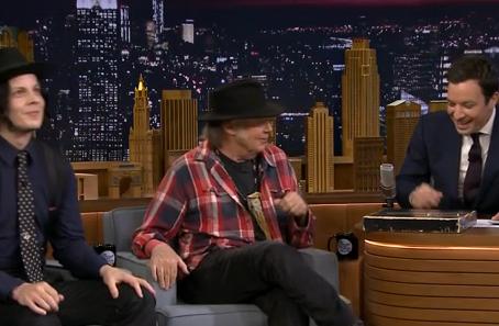 Neil Young & Jack White & Jimmy Fallon