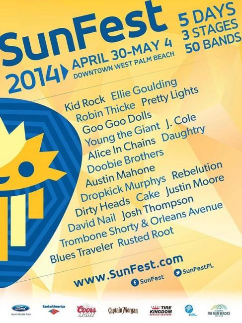 sunfest-2014-lineup