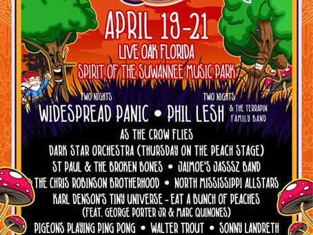 Wanee Festival Releases A Very Heady 2018 Lineup