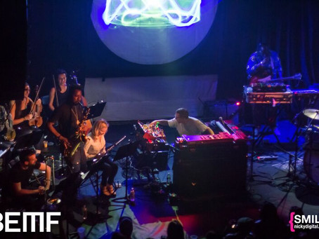 REVIEW: Floating Points Brings Dazzling 11-Piece Orchestra Performance to BEMF