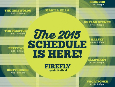 Firefly Music Festival Announces Schedule