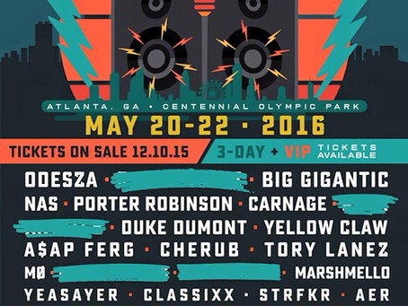 First Annual Shaky Beats Festival Announces Lineup: Nas, Odesza, Big Gigantic, Porter Robinson +more