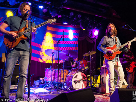 REVIEW: Chris Robinson Brotherhood Brings Warm Sound to Brooklyn Bowl