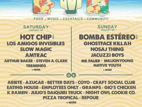 Miami's FM Festival Releases Daily Music Lineup + Food Lineup