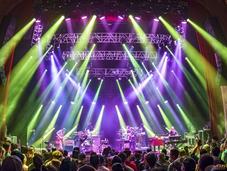 Umphrey's McGee deliver a Sunday night heater at The Capitol Theatre, announce 3 nights at Bro