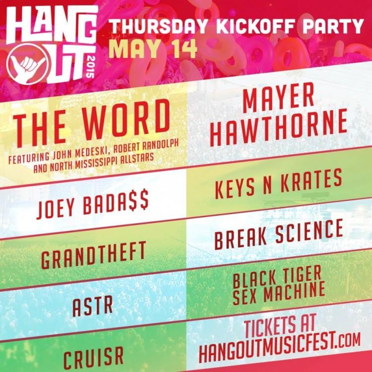 hangout kickoff party