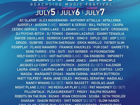 Wavefront Music Festival 2013: Chicago's electronic music festival… ON THE BEACH!
