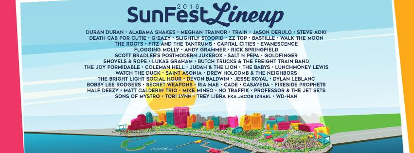 sunfest lineup