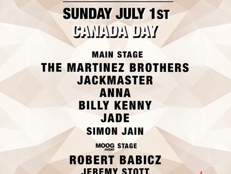 Electric Island 2018 Canada Day Edition