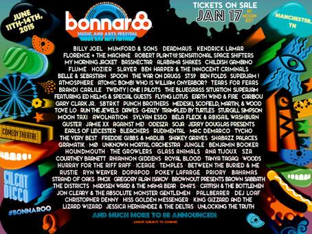 Bonnaroo Announces 2015 Lineup: Billy Joel, Deadmau5, Robert Planet, STS9, MMJ +more