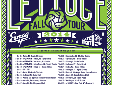 Tour Preview: Lettuce Fall Tour 2014