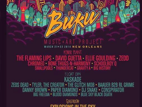 BUKU Announces 2014 Lineup: Explosions in the Sky, Glitch Mob, Flaming Lips, more