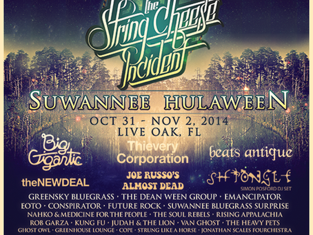 Hulaween Announces Additional Acts, Thursday Pre-Party, Etc.