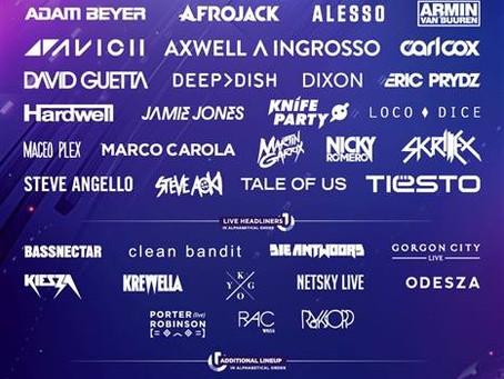 ULTRA MUSIC FESTIVAL 2015 LINEUP (Skrillex, Bassnectar, Die Antwoord, Odesza, & More)