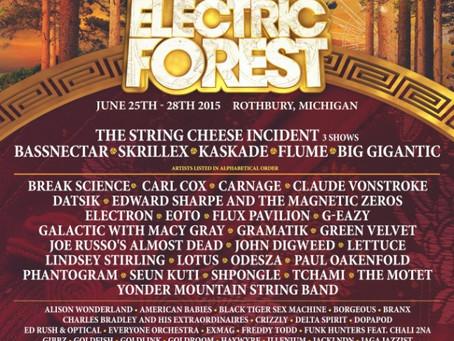 Electric Forest Announces Lineup: SCI, Bassnectar, Skrillex, Kaskade, Flume +more