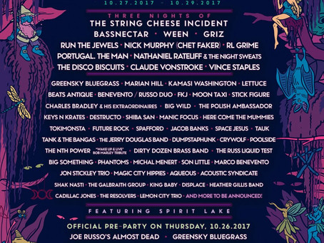 HULAWEEN 2017 LINEUP: Cheese, Bassnectar, Ween, and More