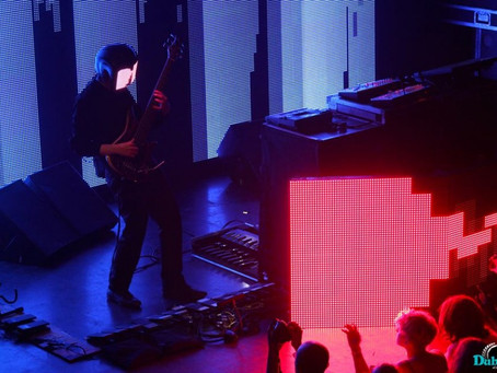 I saw Squarepusher for the first time last night…