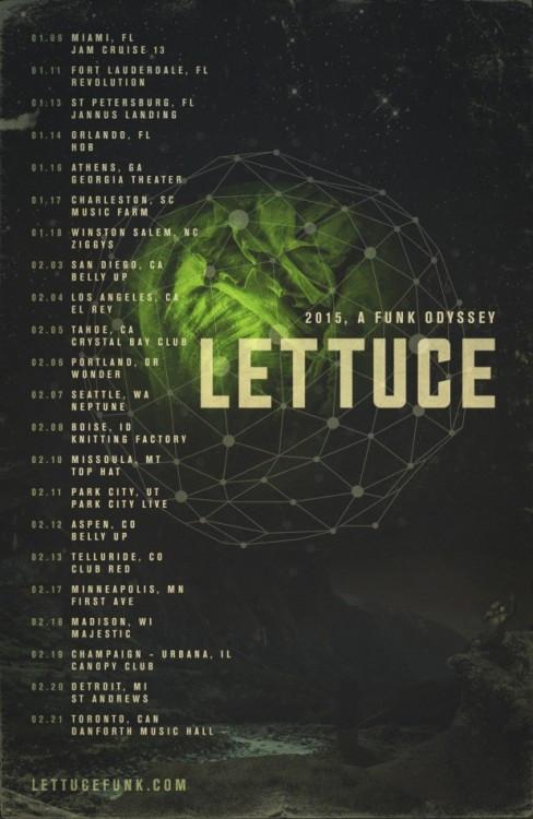 lettuce winter tour