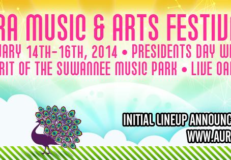 AURA Music & Arts Festival 5: February 14-16 @ Spirit of Suwannee Music Park