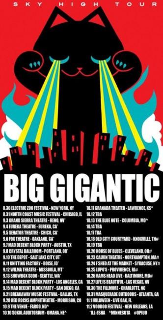 big gigantic sky high tour