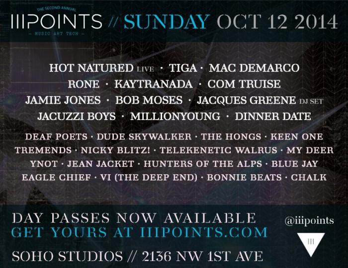 iii points sunday