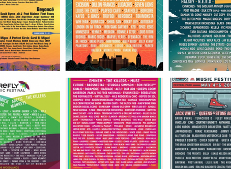 All The Music Festival Lineups You Missed