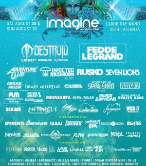 Atlanta's Imagine Festival Debuts Trailer, Takes Place Labor Day Weekend