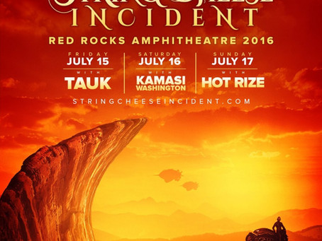 String Cheese Incident Announces Red Rocks 2016 w/ TAUK, Kamasi Washington, and Hot Rize