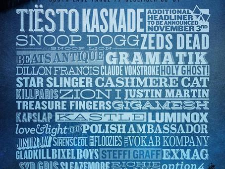 SnowGlobe Announces 2014 NYE Lineup