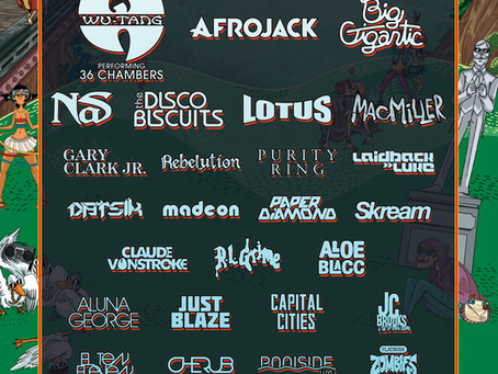 LINEUP ANNOUNCEMENT: North Coast Music Festival 2013