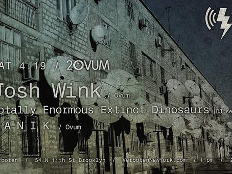 EVENT PREVIEW: Josh Wink & TEED to DJ New Brooklyn Club