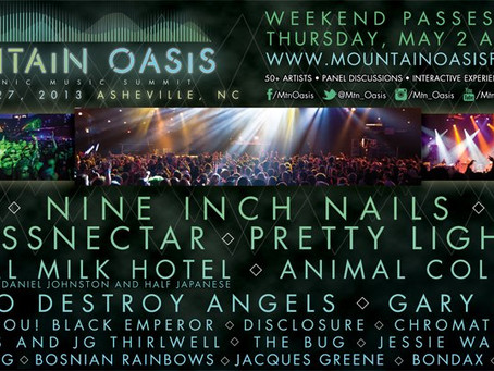 Mountain Oasis: Nine Inch Nails, Bassnectar, Pretty Lights, Disclosure, more in Asheville, NC