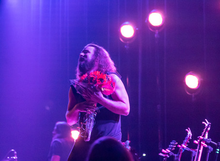 Jim James shines at New York City's Town Hall show