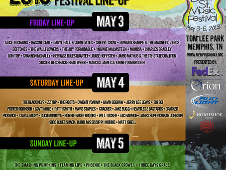 Beale Street Music Festival: Bassnectar, Phoenix, The Roots, Smashing Pumpkins + more