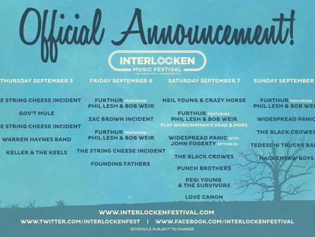 Interlocken Announces Daily Lineups