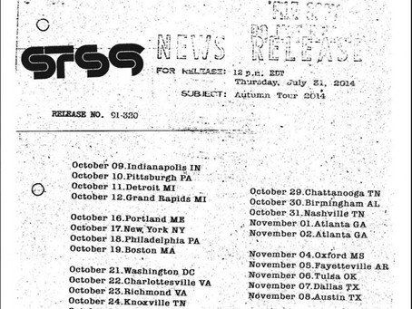 STS9 Announce Fall 2014 Tour