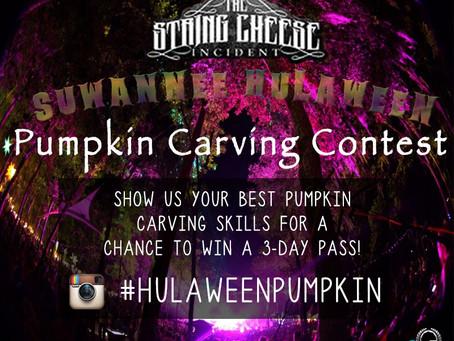 Suwannee Hulaween Pumpkin Carving Contest!