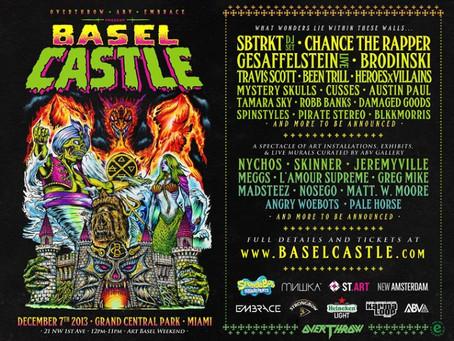 Art Basel Preview: Basel Castle Featuring SBTRKT, Brodinski, Gesaffelstein, more