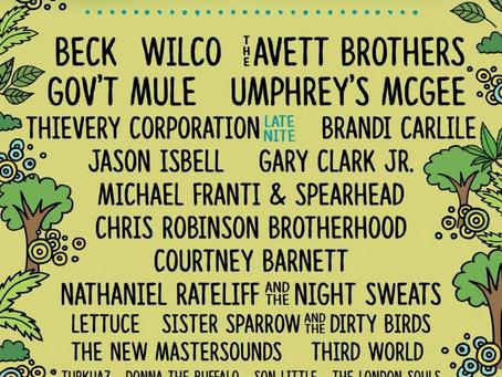 Mountain Jam Announces 2016 Lineup: Beck, Wilco, Avetts, Gov't Mule, Isbell +more