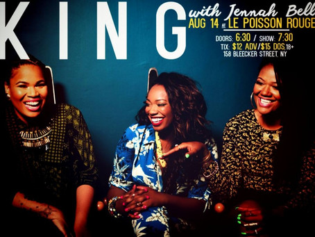 SHOW PREVIEW: KING Album Release Party at Le Poisson Rouge