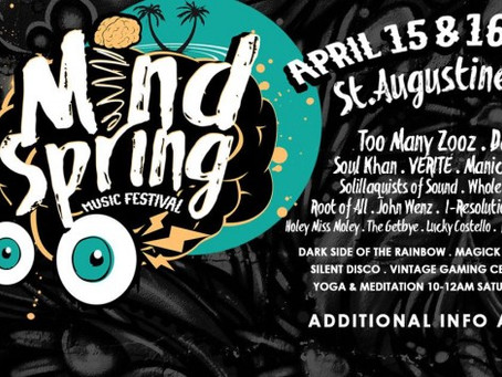 MindSpring Festival Preview: 2 Nights of Fun in St. Augustine [April 15-16]